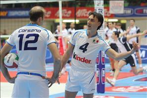 Andrea Bari e Mirko Corsano, liberi azzurri a confronto