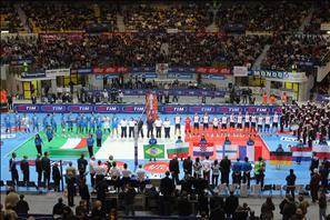 Tutte le bandiere del TIM All Star Volley 2008